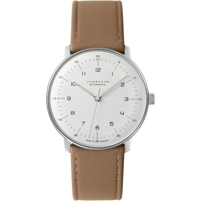 Junghans Max Bill Herrenuhr in Braun 027/3502.04
