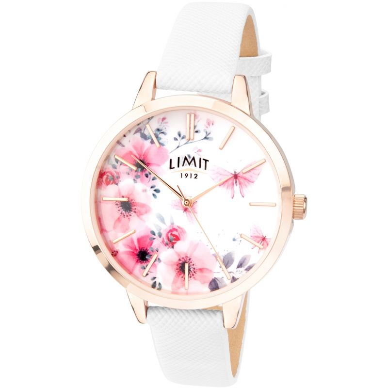 Ladies Secret Garden Rose Gold Plated Watch 60021.73