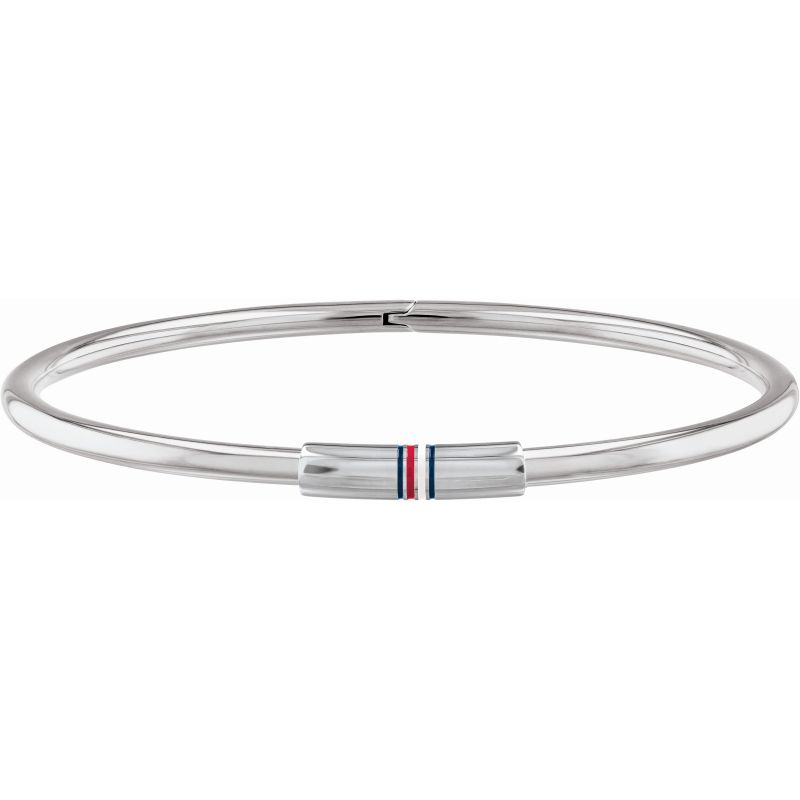 Tommy Hilfiger Stainless Steel Skinny Hinge Bangle 2780249