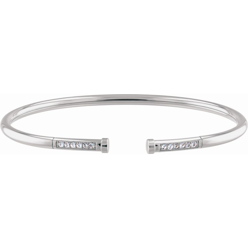 Tommy Hilfiger Stainless Steel Memory Steel Bangle 2780250