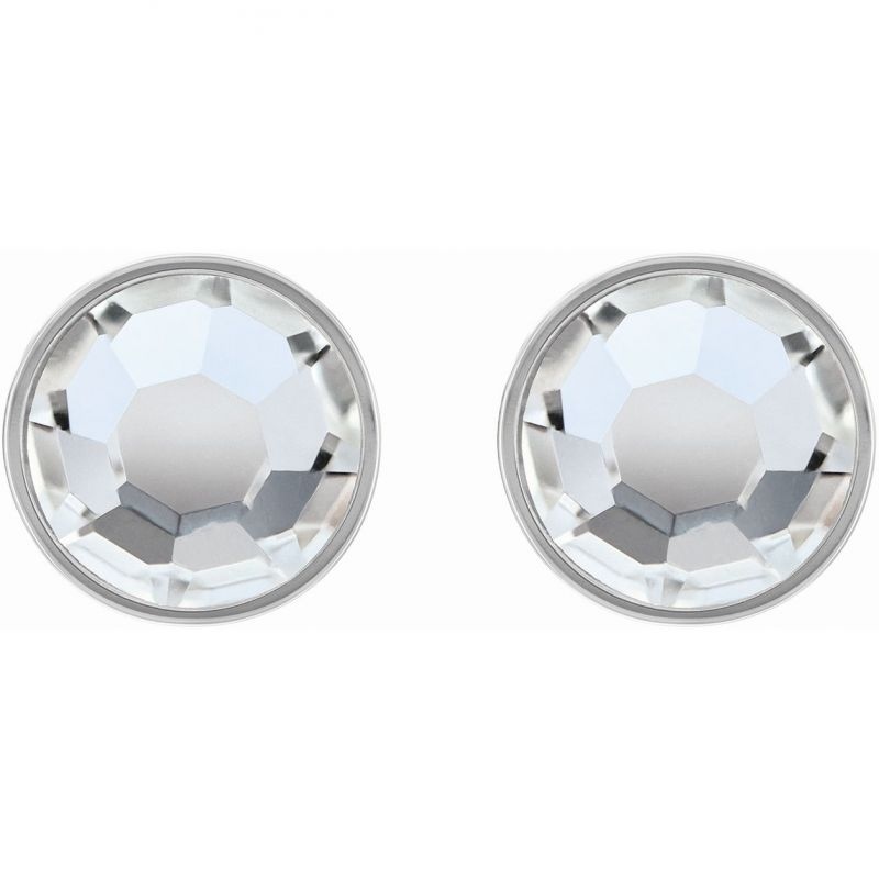 Tommy Hilfiger Stainless Steel Clear Stud Crystal Earrings 2780283