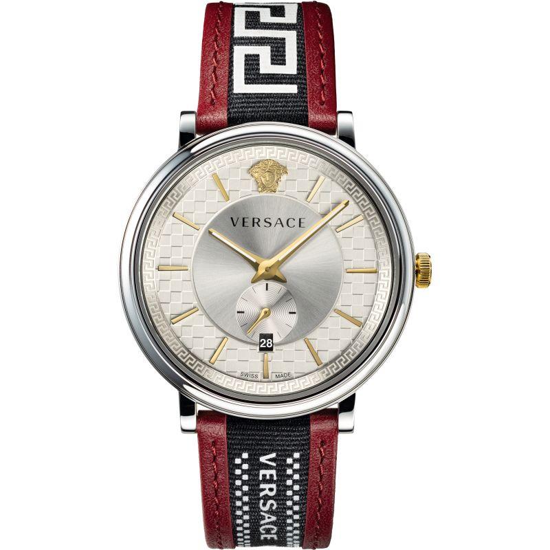 Mens Versace V Circle Watch