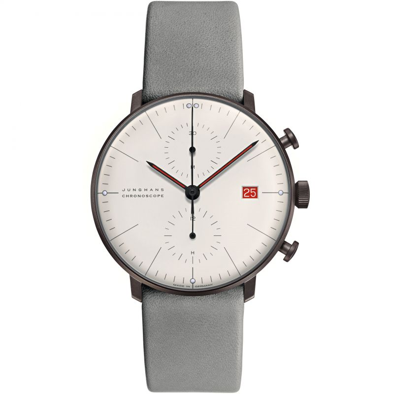 Junghans Max Bill Chronoscope Bauhaus Limited Edition Watch