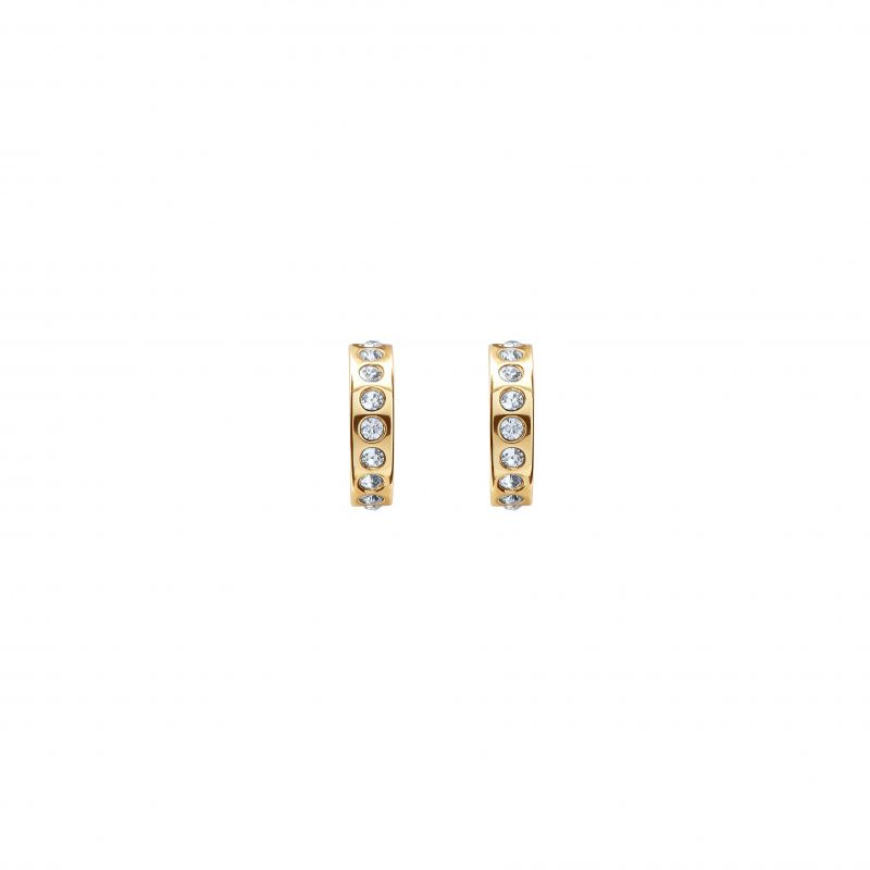 Seeni Mini Hoop Huggie Earrings TBJ2297-02-02