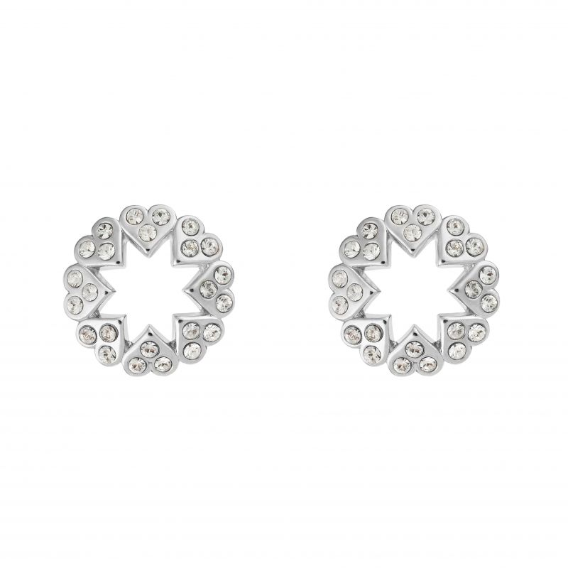 Hapna Heart Star Earrings TBJ2217-01-02