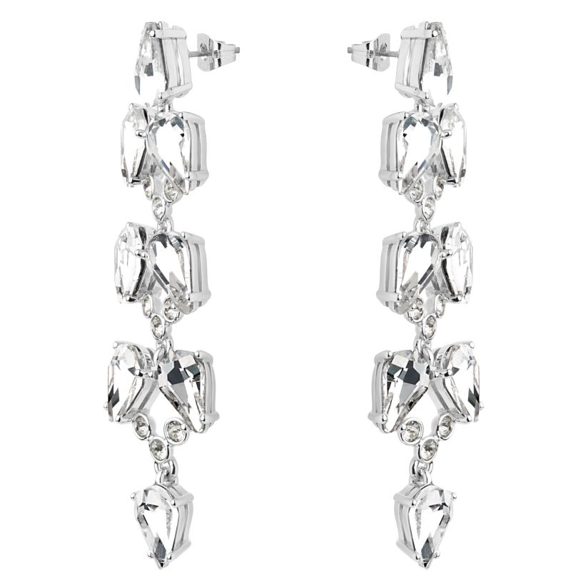 Marla Mayfair Crystal  Long Drop Earrings TBJ2156-01-02