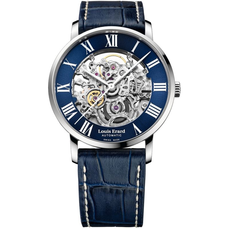 Louis Erard Excellence Skeleton Automatic Watch 81233AA35.BDC255