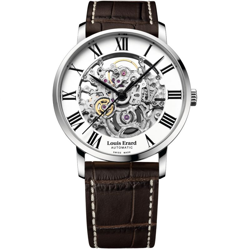 Louis Erard Excellence Skeleton Automatic Watch 81233AA30.BDC251