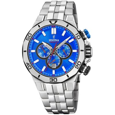 Festina Chrono Bike 2019 Collection Herrkronograf Silver F20448/2