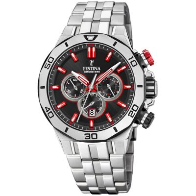 Festina Chrono Bike 2019 Collection Herrkronograf Silver F20448/7