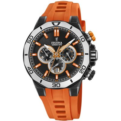 Festina Chrono Bike 2019 Collection Herrkronograf Orange F20450/2