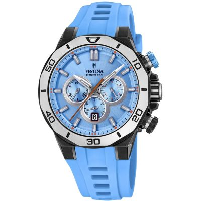 Festina Chrono Bike 2019 Collection Herrkronograf Blå F20450/6
