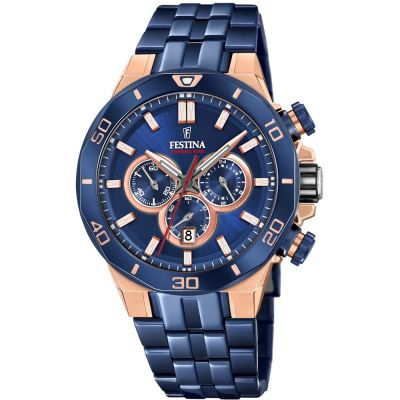 Festina Special Edition of Chrono Bike 2019 Collection Herrkronograf Blå F20452/1