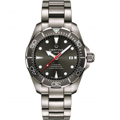 Certina DS Action Diver Powermatic 80 Herrklocka Grå C0324074408100