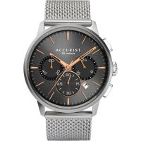Accurist Mens Chronograph Mesh Bracelet Watch