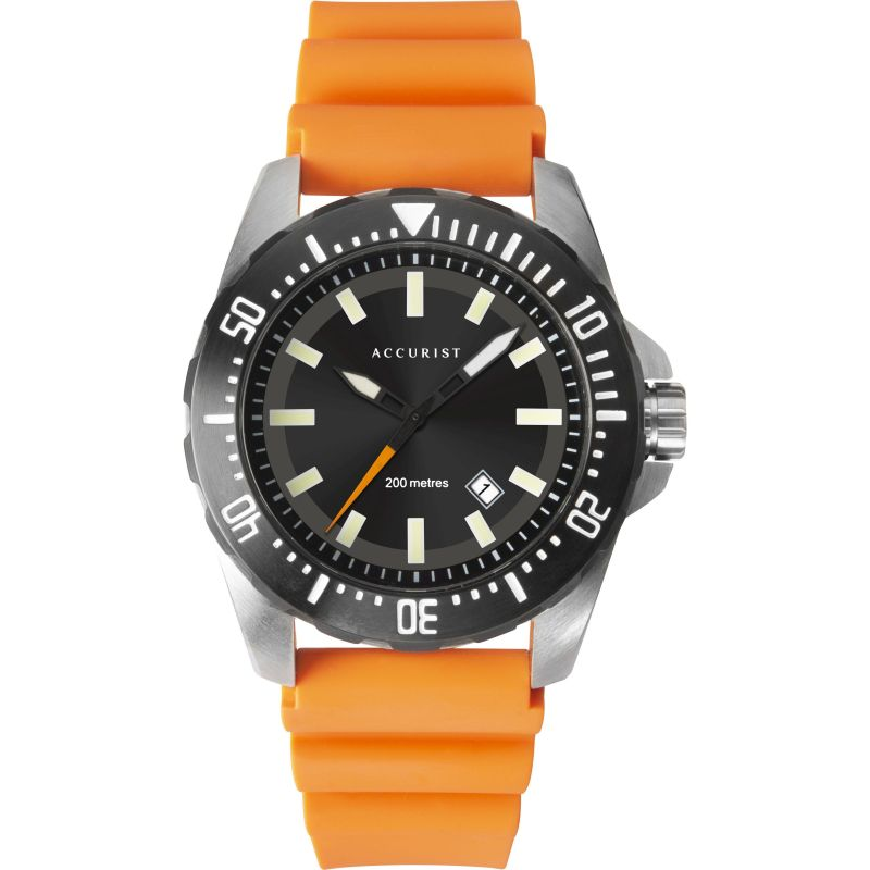 Mens Accurist Accurist Mens Divers Watch 7306