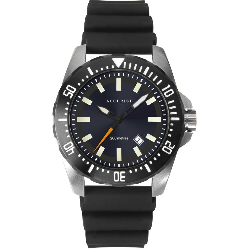 Mens Accurist Accurist Mens Divers Watch 7307