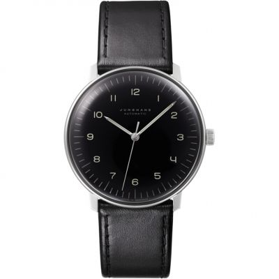 Junghans Max Bill Herrenuhr in Schwarz 027/3400.04