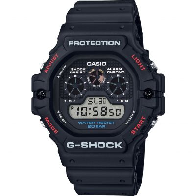 Casio G-Shock Herrenchronograph in Schwarz DW-5900-1ER