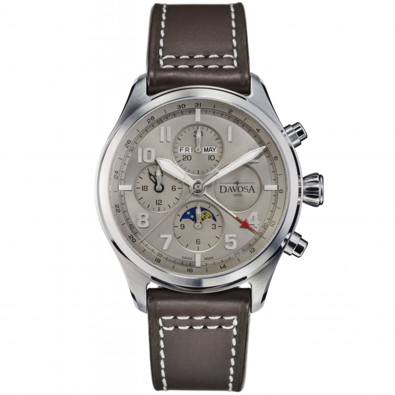 Mens Davosa Newton Automatic Chronograph Watch