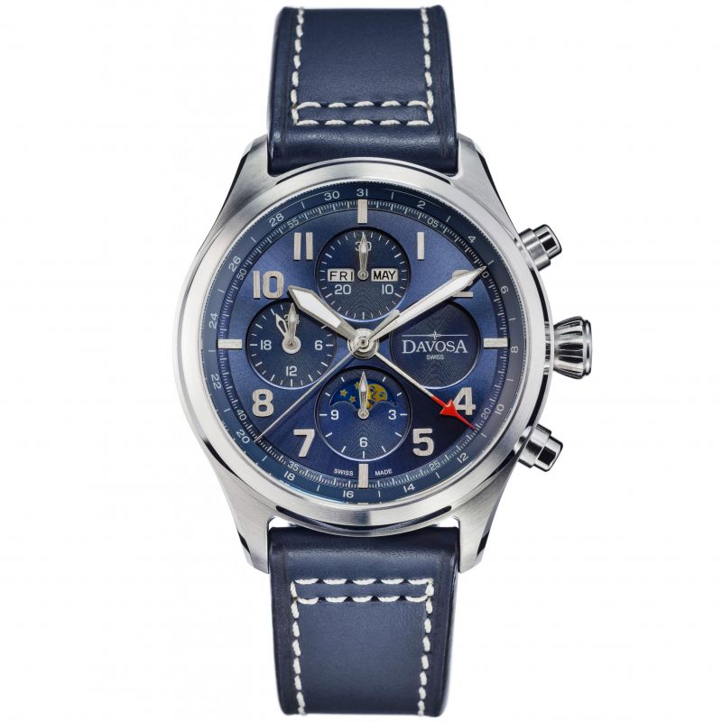 Newton Pilot Moonphase Chrongraph Limited Edition Watch 16155940