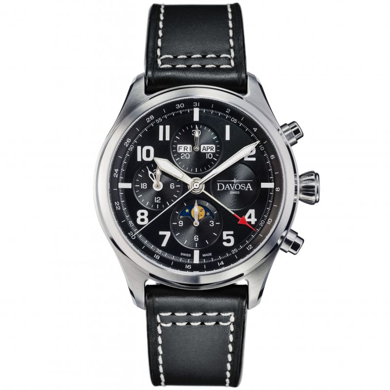 Newton Pilot Moonphase Chrongraph Limited Edition Watch 16155950