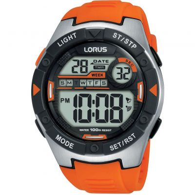 Lorus Unisexkronograf Orange R2303NX9