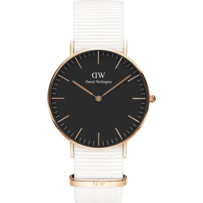 Unisex Daniel Wellington Classic 36 Dover RG Black Watch DW00100310