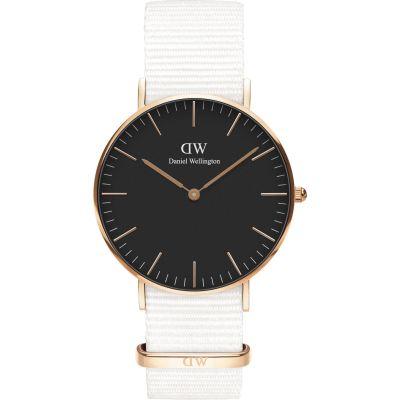 49c98f501b7075 Unisex Daniel Wellington Classic 36 Dover RG Black Watch DW00100310