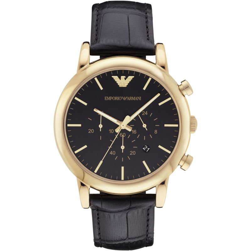 Mens Emporio Armani Luigi Watch