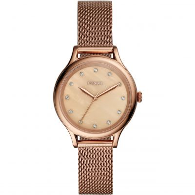 Fossil Laney Damklocka Rose Gold BQ3392