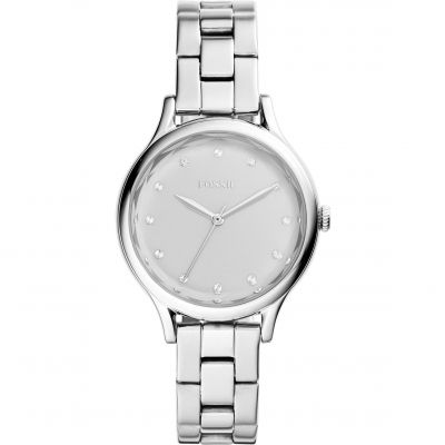 Fossil Casual Laney Damenuhr in Silber BQ3320