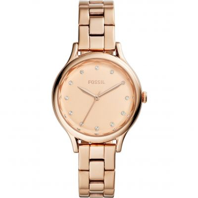 Fossil Casual Laney Damenuhr in Rosegold BQ3321