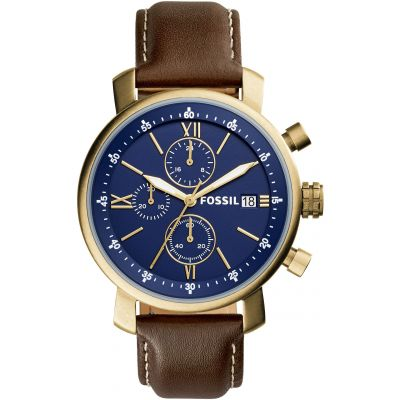 Fossil Casual Rhett Herrenuhr in Braun BQ2099