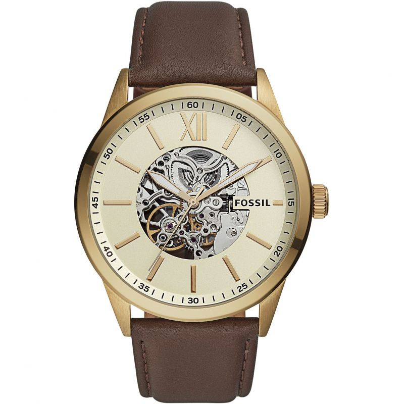 Mens Fossil Flynn Automatic Watch