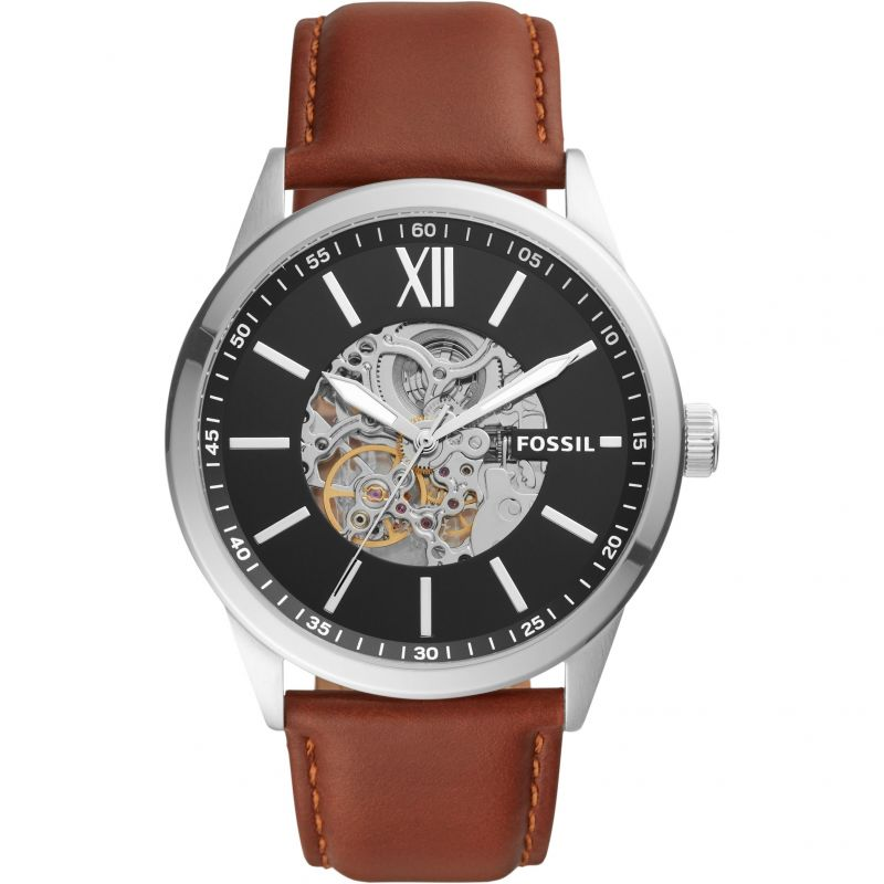 Mens Fossil Flynn Automatic Watch BQ2386