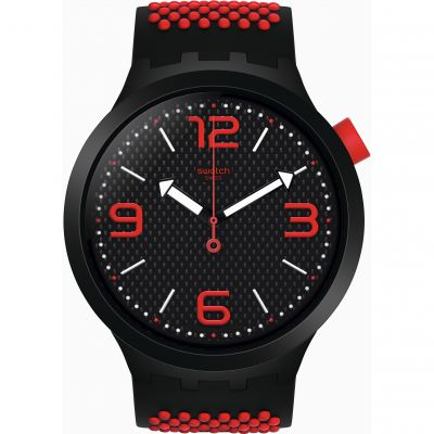 Swatch SS19 Big Bold Bbblood Herrenuhr in Zweifarbig SO27B102