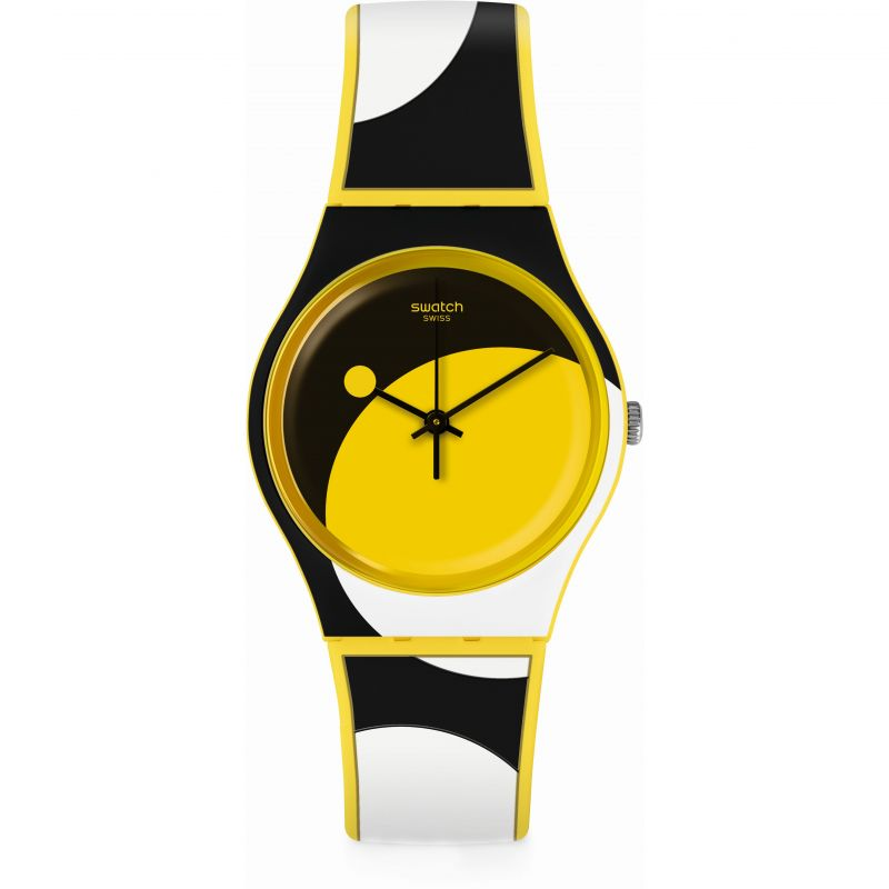 Unisex Swatch D-Form Watch GJ139