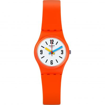 Swatch Bau Swatch Sorange Damenuhr in Orange LO114