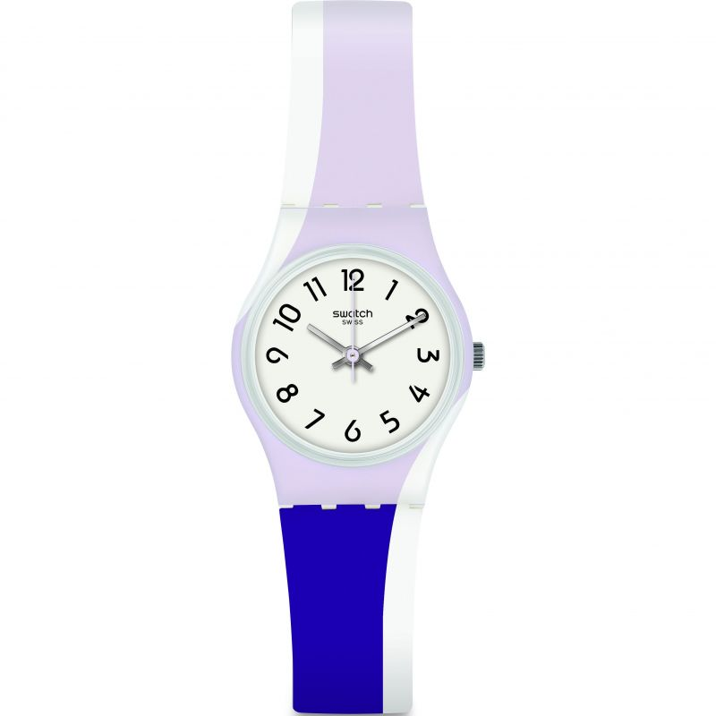 Ladies Swatch Purpletwist Watch LW169