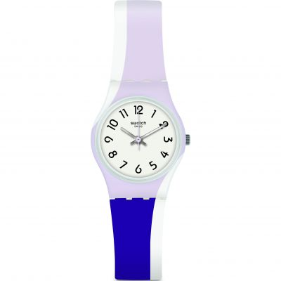 Swatch Purpletwist Dameshorloge Tweetonig LW169