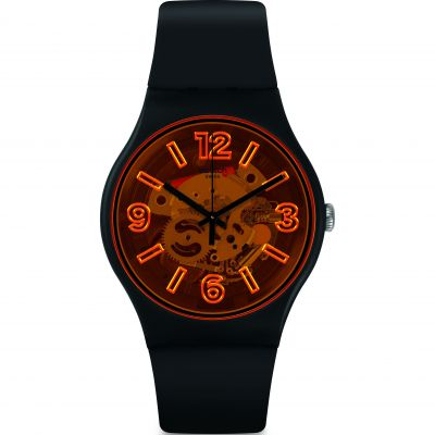 Mens Swatch Orangeboost Watch SUOB164
