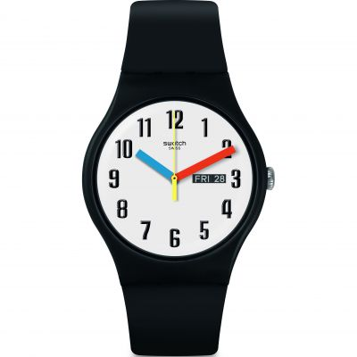 Mens Swatch Elementary Watch SUOB728