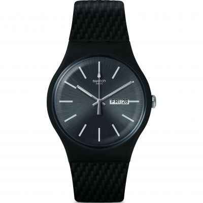 Swatch Bau Swatch Bricagris Herrenuhr in Grau SUOM708