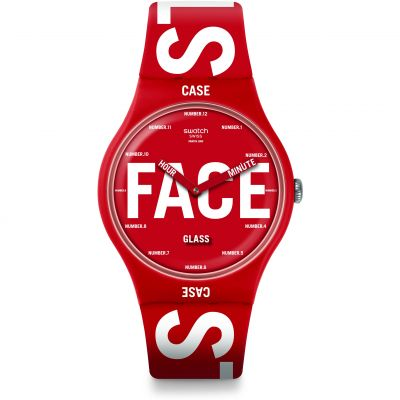 Montre Unisexe Swatch Swatchid SUOR115