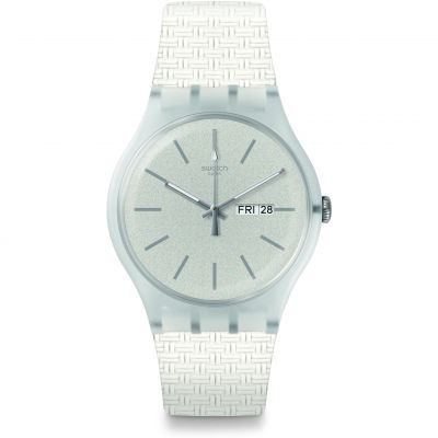 Unisex Swatch Bricablanc Watch SUOW710