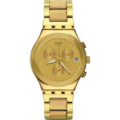 Unisex Swatch Goldy Full Watch YCG420G