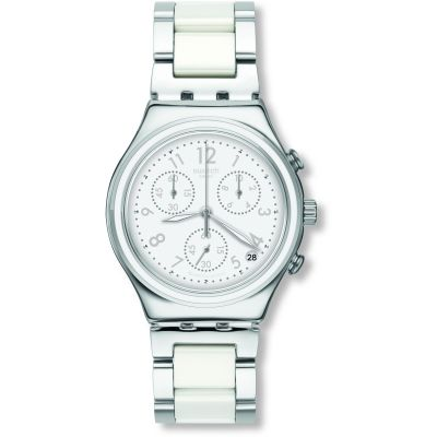 Swatch Snow Dream Unisexklocka Tvåfärgad YCS603G