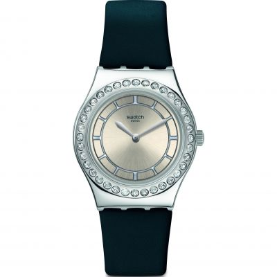 Ladies Swatch Bluechic Watch YLS211