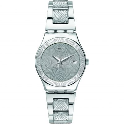 Montre Femme Swatch Classy Silver YLS466G